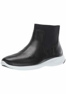 Cole Haan Women's 3.Zerogrand Chelsea Bootie Waterproof Boot Black Leather  B US