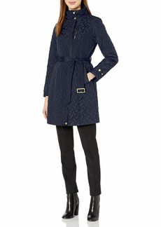 Cole Haan Women's Belted Quilted Jacket