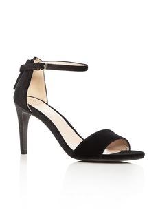 Cole Haan Women's Clara Velvet Ankle Strap Sandals