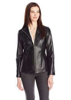 Cole Haan Women's Classic Leather Jacket