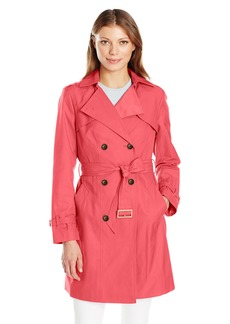 Cole Haan Women's Double Breasted Trench Coat