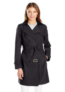 Cole Haan Women's Double Breasted Trench Coat  XS