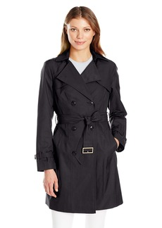 Cole Haan Women's Double Breasted Trench  XL
