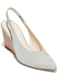 Cole Haan Women's Elnora Slingback Wedge Pumps