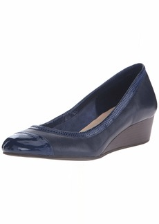 Cole Haan Women's Elsie Cap Toe Wedge II Pump   B US