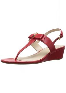 Cole Haan Women's Elsie Hrdware Ii Wedge Sandal  5 B US
