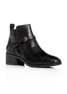 Cole Haan Women's Etta Leather Block-Heel Booties