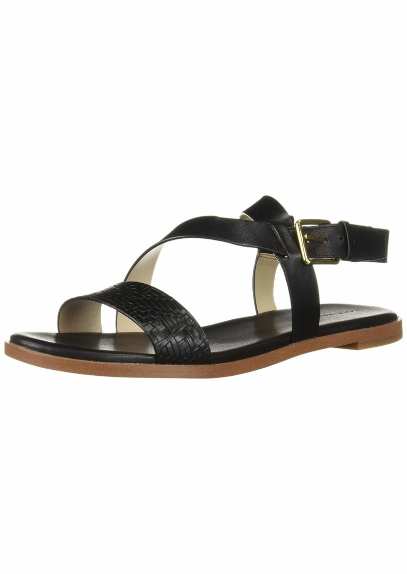 Cole Haan Women's FINDRA Strappy Sandal II Flat   B US