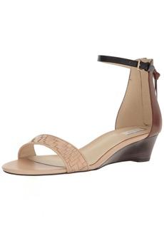 Cole Haan Women's Genevieve Weave WDG Wedge Sandal  5.5 B US