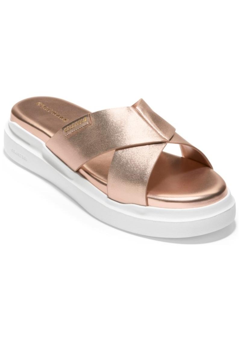 Cole Haan Women's Grandpro Crisscross Sandals