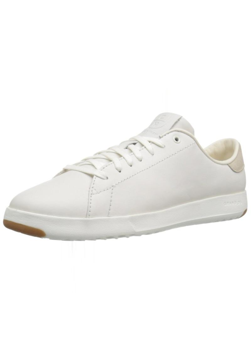 Cole Haan Women's GrandPro Tennis Leather Lace OX Fashion Sneaker   B US