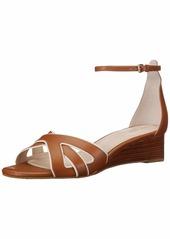 Cole Haan Women's HANA Grand Wedge Sandal ch British tan  B US