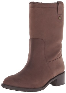 Cole Haan Women's Jessup WP Boot Chestnut Leather/Shearling