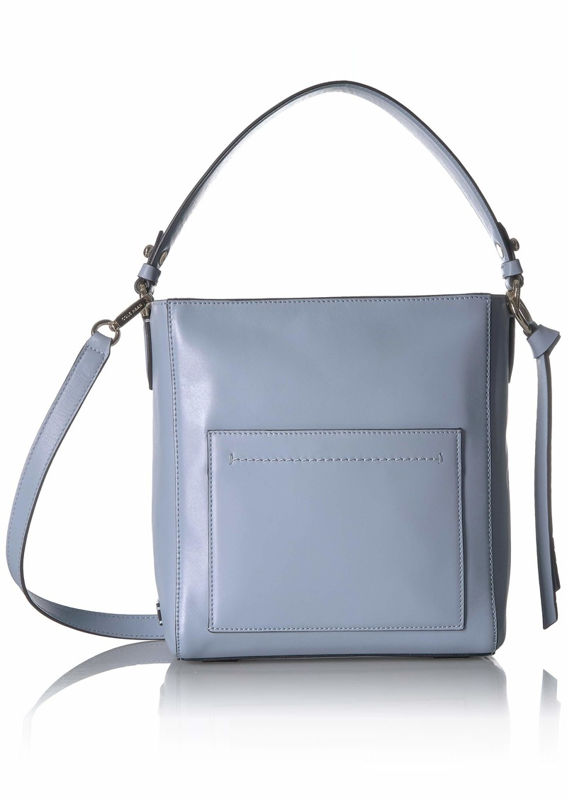 Cole Haan Women's Kaylee Small Bucket Hobo zen blue