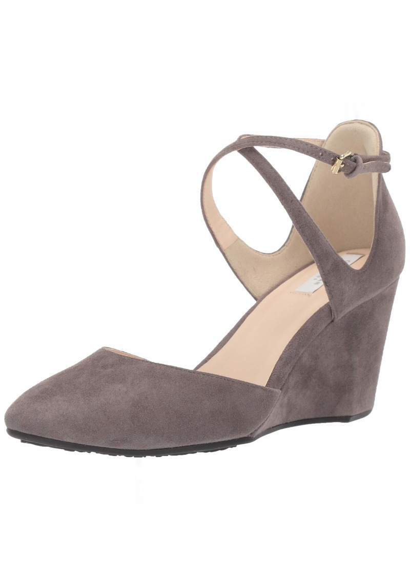 Cole Haan Women's Lacey Wedge Ankle Strap 7MM Pump   B US