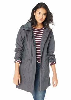 Cole Haan Women's Packable Rain Jacket  Extra Large