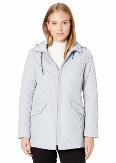 Cole Haan Women's Quilted barn Jacket