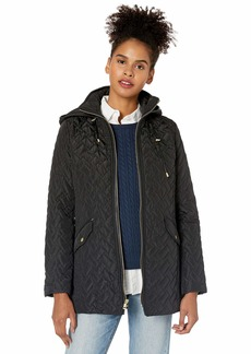 Cole Haan Women's Quilted barn Jacket  S