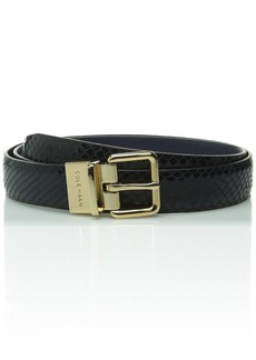 Cole Haan Women's Reversible Beverly Snake Panel Belt