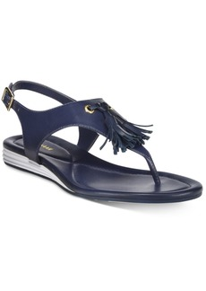 Cole Haan Women's Rona Grand Tasseled Sandals Women's Shoes