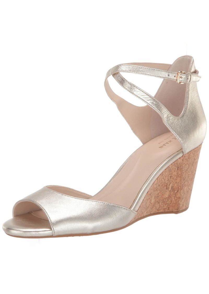 Cole Haan Women's Sadie Grand Open Toe Sandal (75MM Mule