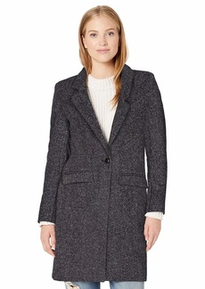 Cole Haan Women's Single Breast Classic Houndstooth Jacket