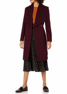 Cole Haan Women's Slick Wool wrap Coat