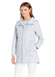 Cole Haan Women's Sporty Packable Rain Jacket  M