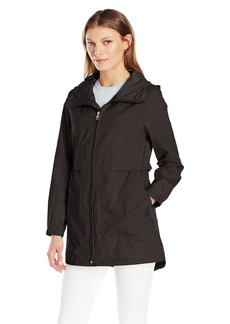 Cole Haan Women's Sporty Packable Rain Jacket  XS