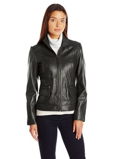 Cole Haan Women's Wing Collar Jacket