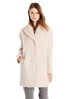 Cole Haan Women's Wool Mohair Cocoon Coat
