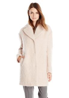Cole Haan Women's Wool Mohair Cocoon Coat