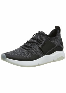 Cole Haan Women's Zerogrand All-Day Trainer with Stitchlite Sneaker Black knit/leather/Optic White