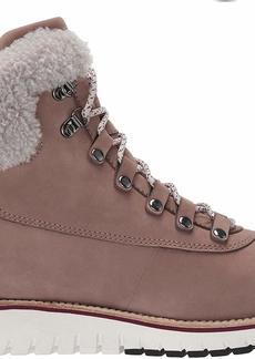 Cole Haan Women's Zerogrand Explore Hiker Waterproof Ankle Boot Twilight Mauve Nubuck/Dove SHE  B US