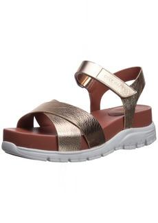 Cole Haan Women's Zerogrand II Flat Sandal  7 B US