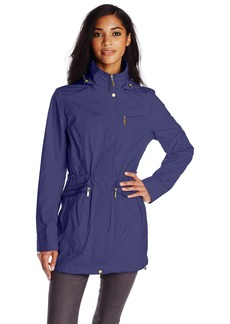 Cole Haan Women's Zip Front Anorak with Hood