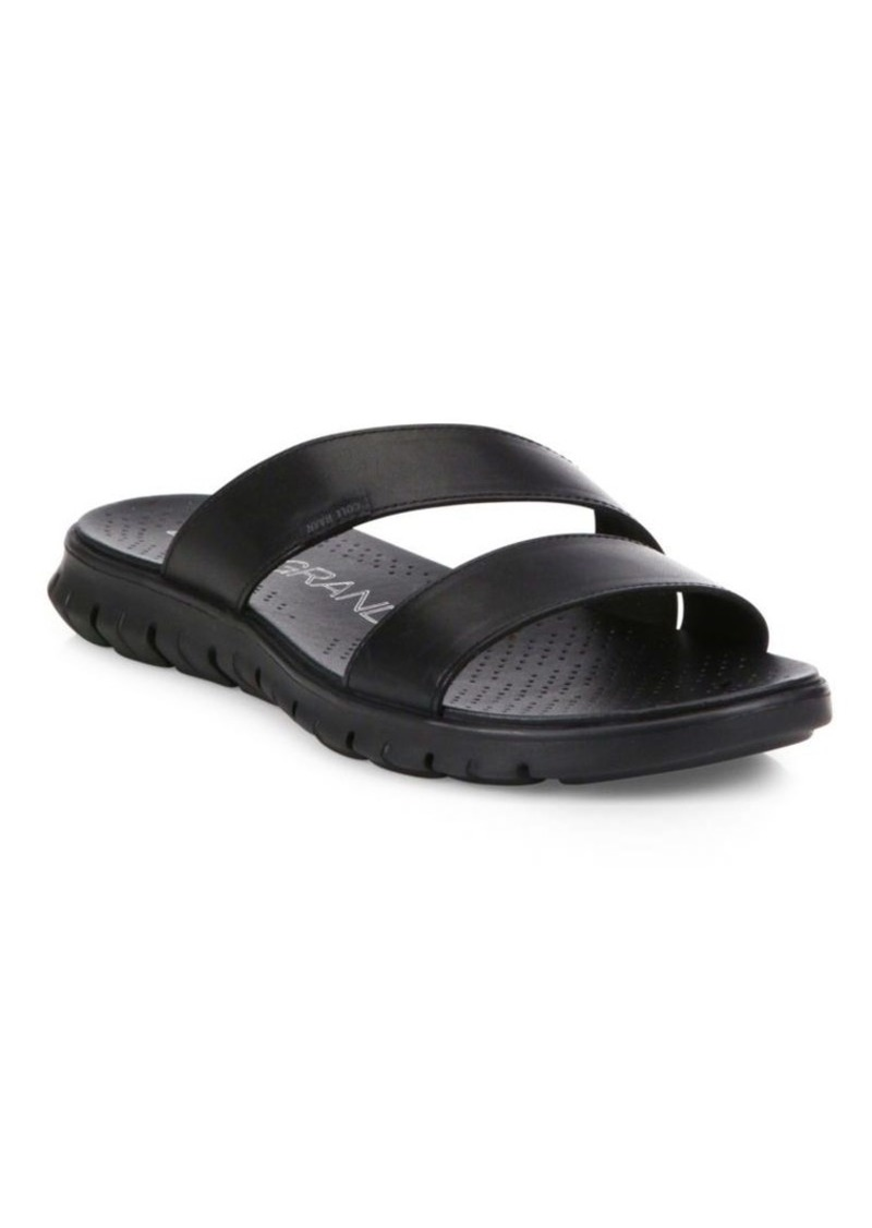Cole Haan Grand Leather Slides