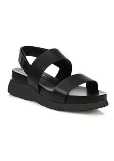 Cole Haan ZeroGrand Leather Platform Slingback Sandals