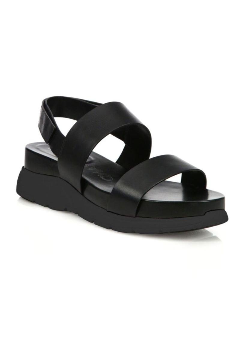 73c8e80e048 Cole Haan Cole Haan ZeroGrand Leather Platform Slingback Sandals Now ...