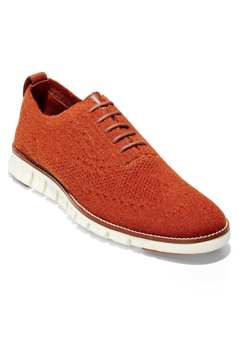 Cole Haan ZeroGrand Stitchlite Wool Wingtip Oxford (Men)