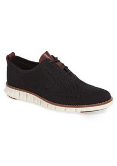 Cole Haan ZeroGrand Stitchlite Woven Wool Wingtip (Men)