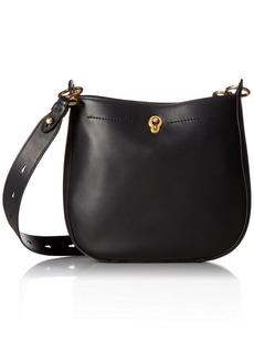 Cole Haan Zoe Large Zip Crossbody Leather Bag