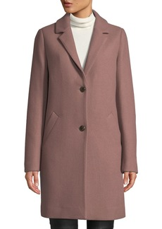 Cole Haan Double-Face Wool Two-Button Jacket