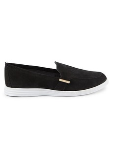 Cole Haan Ella Velvet Slip-On Sneakers