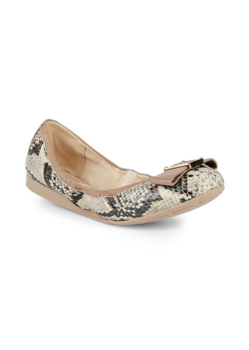 6db6d44050 Cole Haan Emory Bow Leather Ballet Flats | Shoes