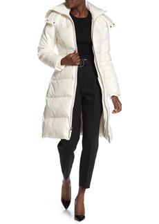 Cole Haan Faux Fur Hooded Jacket