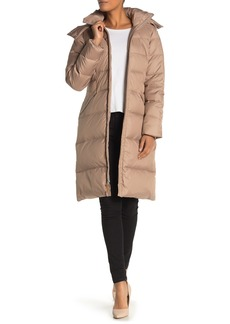 Cole Haan Faux Fur Hooded Jacket