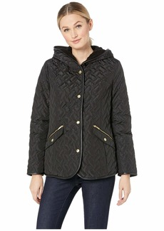 Cole Haan Faux Sherpa Lined Signature Quilt