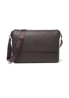 Cole Haan Flap Leather Messenger Bag