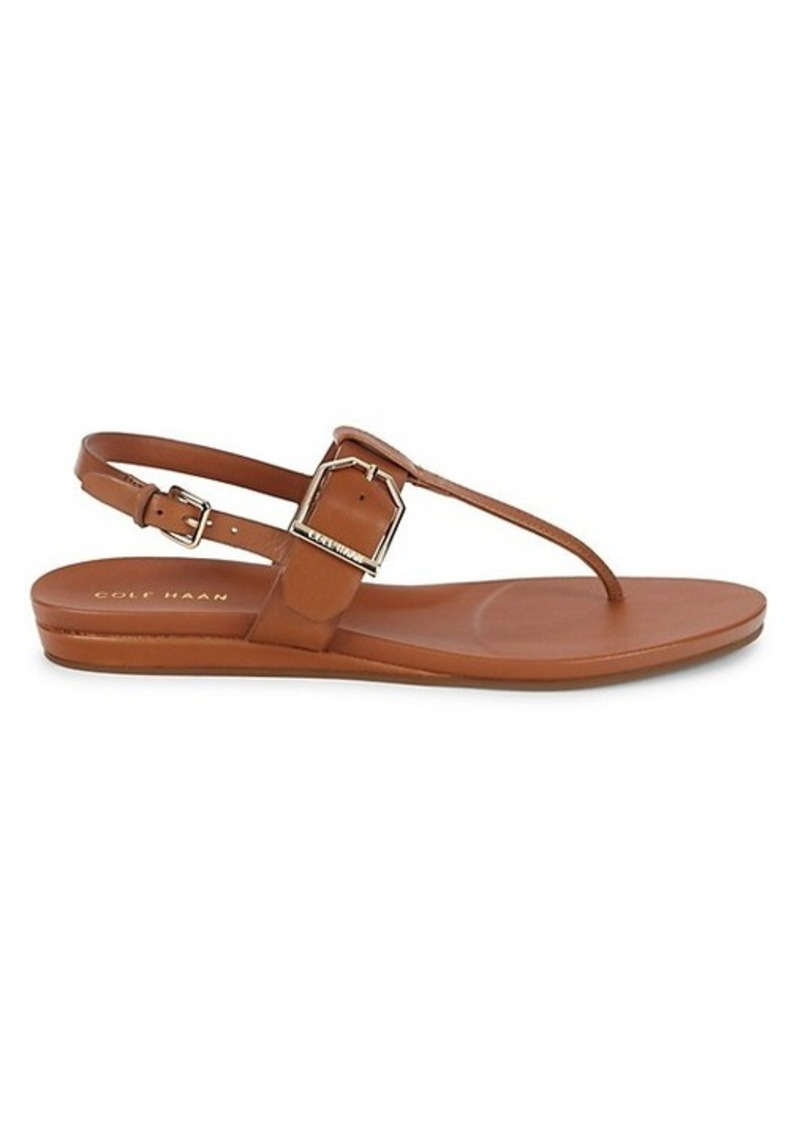 Cole Haan Francie Leather Sandals